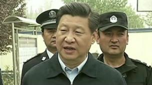 Xi Jinping in Xinjiang