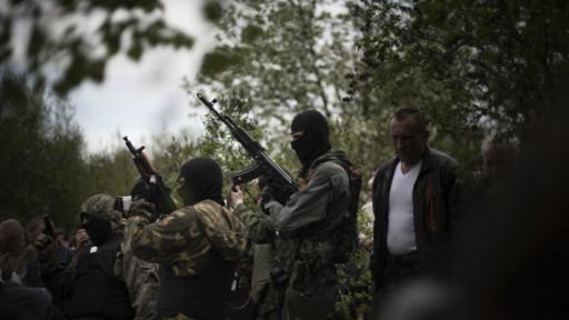 Forças ucranianas lançam ofensiva militar no leste do país