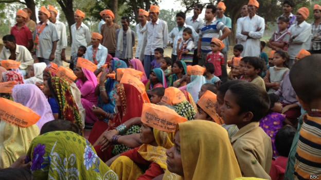 अमेठी में भाजपा का प्रचार अभियान