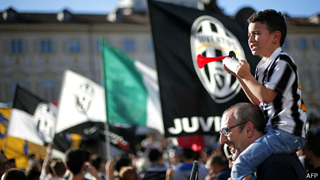 Aficionados de la Juve
