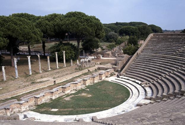 Anfiteatro de Ostia