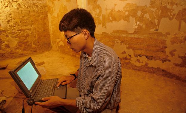 Mapeando una tumba egipcia