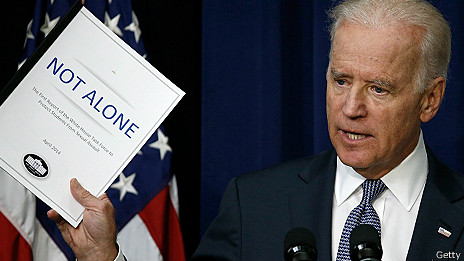 Biden con informe sobre abuso sexual