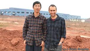 Junchang Lu y Steve Brusatte