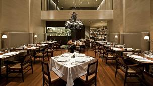 Interior del restaurante D.O.M