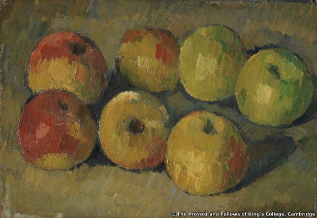 Paul Cezanne's Still Life with Apples, c 1878