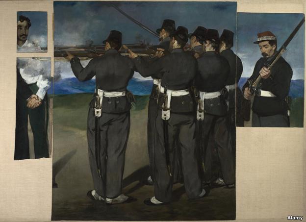 Ejecución de Maximiliano de Édouard Manet