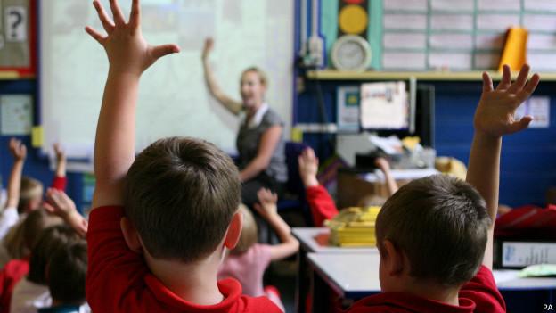 Crianças em sala de aula. Foto: PA