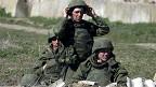 Soldados rusos en Crimea
