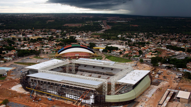 Arena Pantanal (AFP)