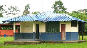 Centro de salud en Sani Isla