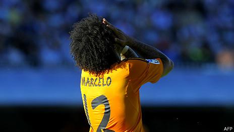 Marcelo, del Real Madrid