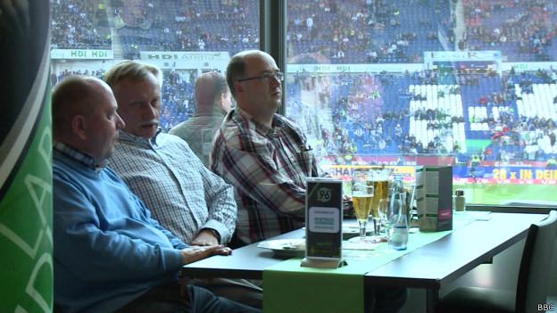 Camarote VIP. Foto: BBC