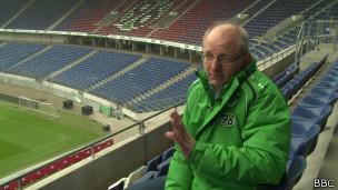 Dirk Köster. Foto: BBC