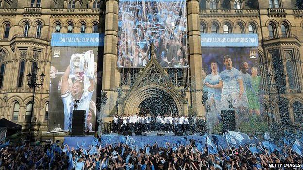 Hinchas del Manchester City