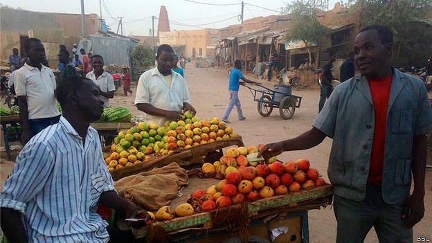 Mercado en Agadez