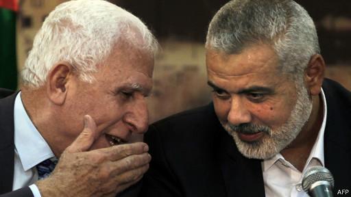 Fatah e Hamas (AFP)