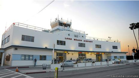 Aeropuerto de Long Beach, California
