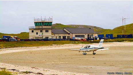 Aeropuerto de Barra, Escocia