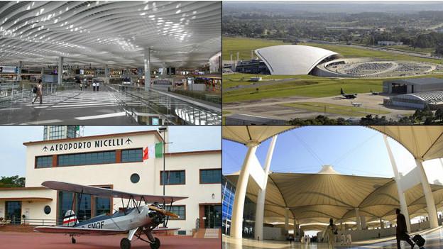 Algunos de los aeropuertos más hermosos del mundo