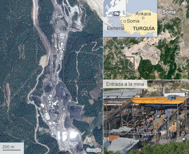 Mapa de la mina