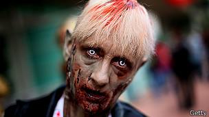 Zombie en Comic Con de San Diego