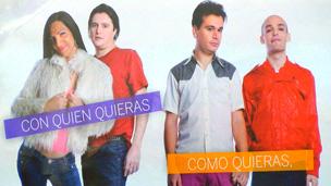 Afiche en Argentina