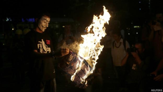 Protesto no RIo (Reuters)