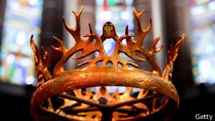 La corona de Juego de Tronos