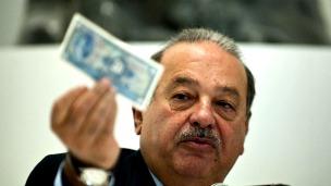 Carlos Slim Helú. Foto: AFP/Getty