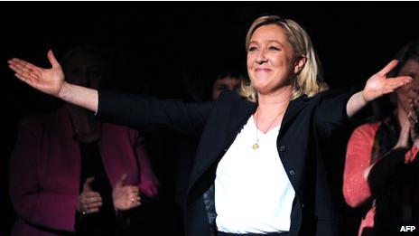 Лидер французского Национального фронта Марин Ле Пен
