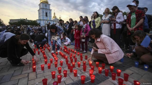 Акция памяти жертв депортации крымских татар в Киеве
