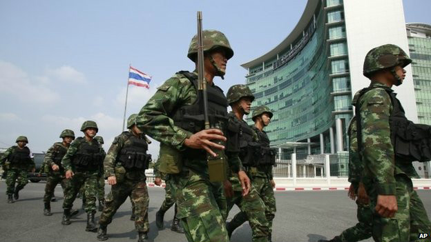 Crise na Tailândia (AP)