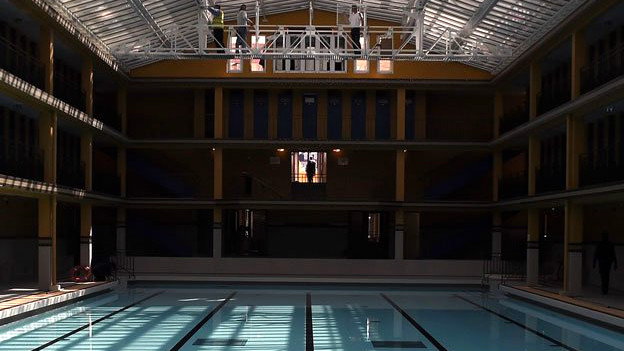 Nueva piscina Molitor