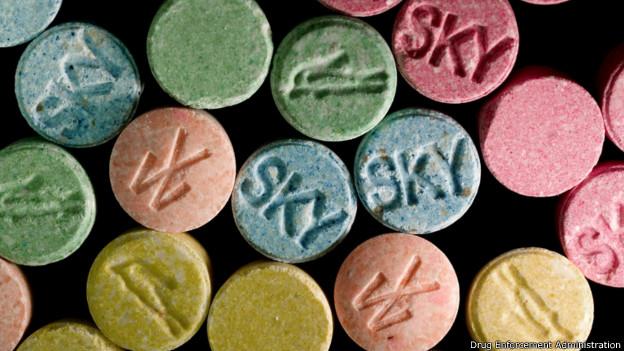 Drogas sintéticas (Divulgação: DEA)
