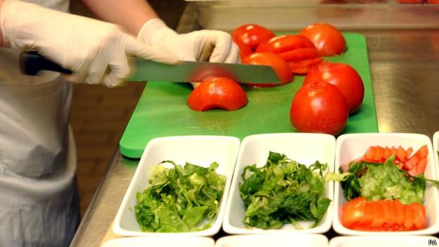 Preparação de salada (PA)