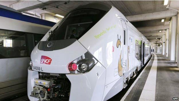 Trem na França (AFP)
