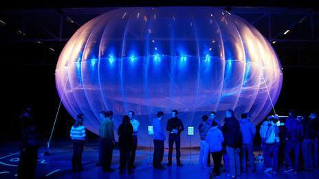 El globo de Google