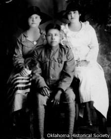 Un veterano con su familia