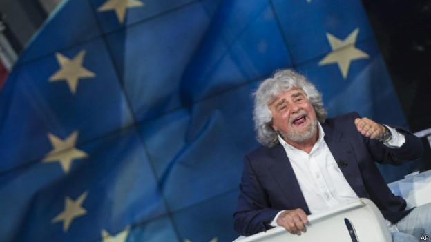 Beppe Grillo | Foto: AP