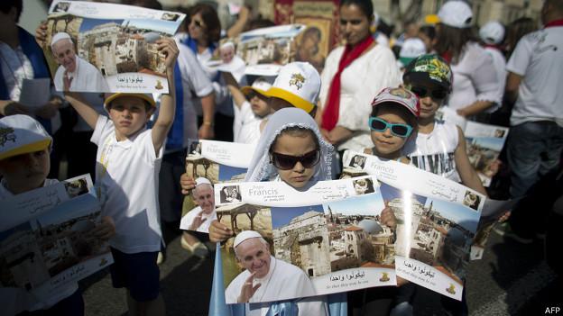 visita del papa Francisco a Medio oriente