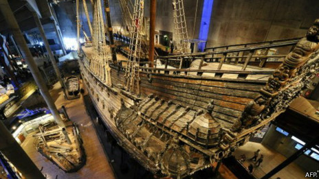 O navio Vesa (AFP)