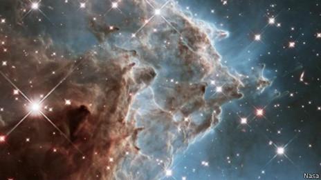 Imagem feita pelo telescópio Hubble (Nasa)