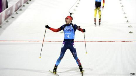 Pista de biatlon en Sochi (AFP)