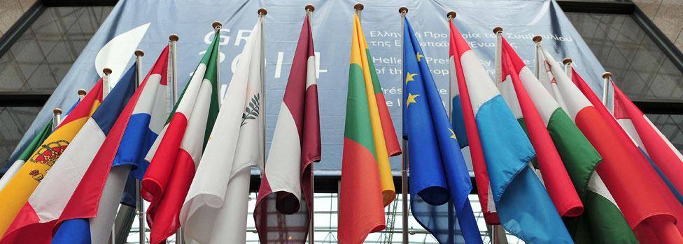 Banderas Europeas (foto: AFP/Getty)