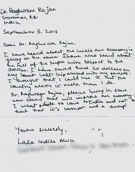 La carta de Laila