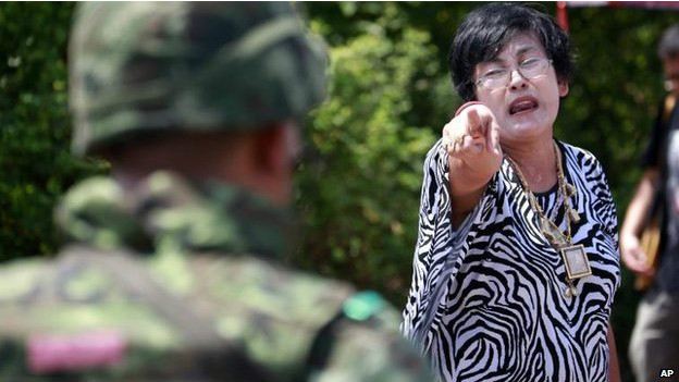 Таиланд: протесты на улицах Бангкока
