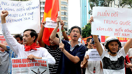 Biểu tình chống TQ 11/5/2014 ở Sài Gòn