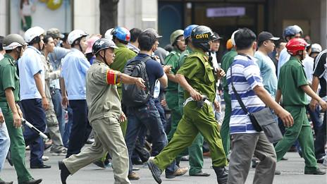 Biểu tình chống TQ ngày 18/5 ở Sài Gòn
