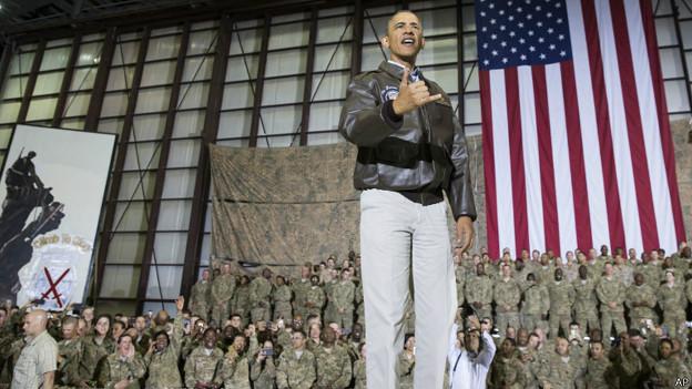 Obama en Afganistán